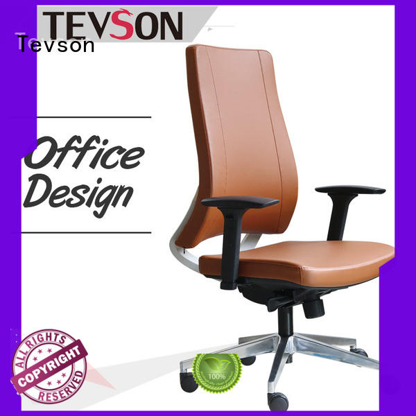 Tevson height adjustable low-back office chair classic for waiting Room