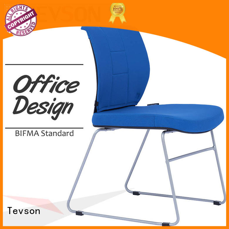 Tevson plastic classroom chair with writing pad scientificly for anteroom