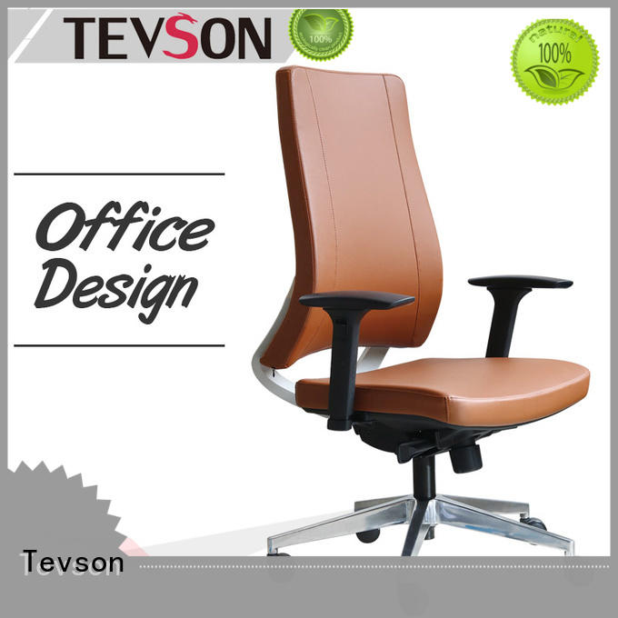 Tevson stylish ergonomic chair for office testing in work room
