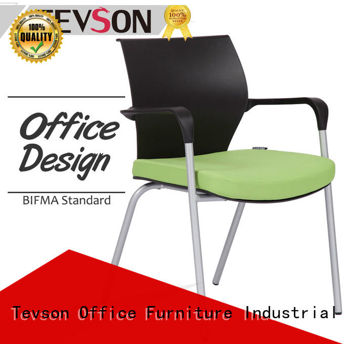 new-arrival visitor chair molded scientificly for reception