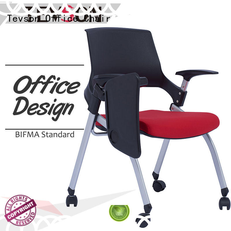 comfortable student office chair wheels for reception Tevson