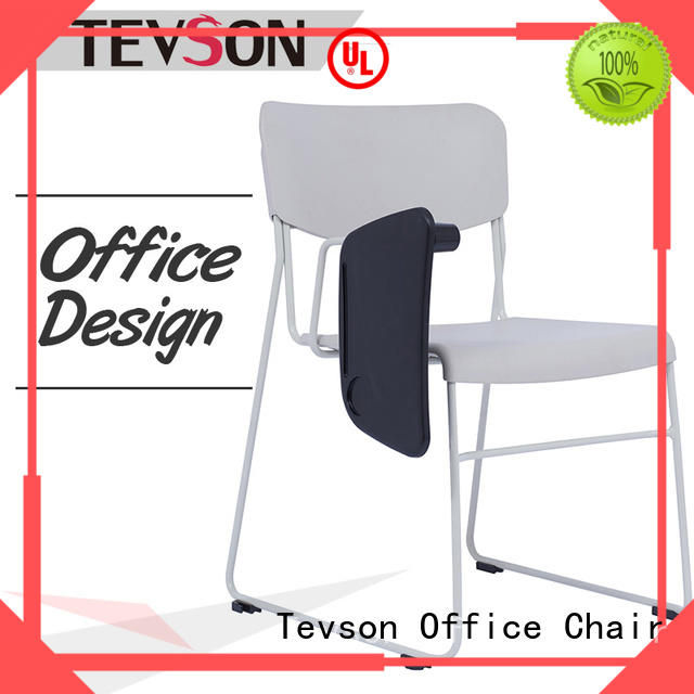 Tevson plastic meeting room chairs certifications with writing board