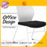 Tevson polyester conference chairs with writing board