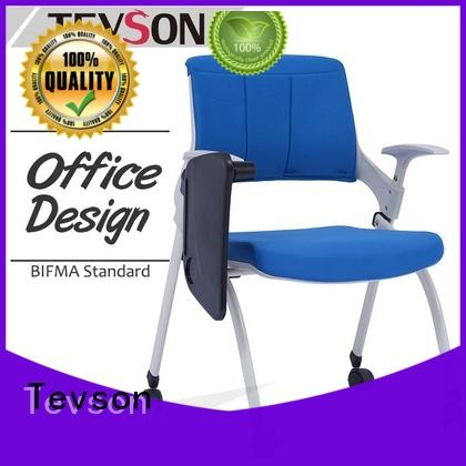 Tevson heavy training room chair workshops with writing board