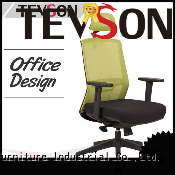 high efficiency ergonomic adjustable office chair leather type for waiting Room