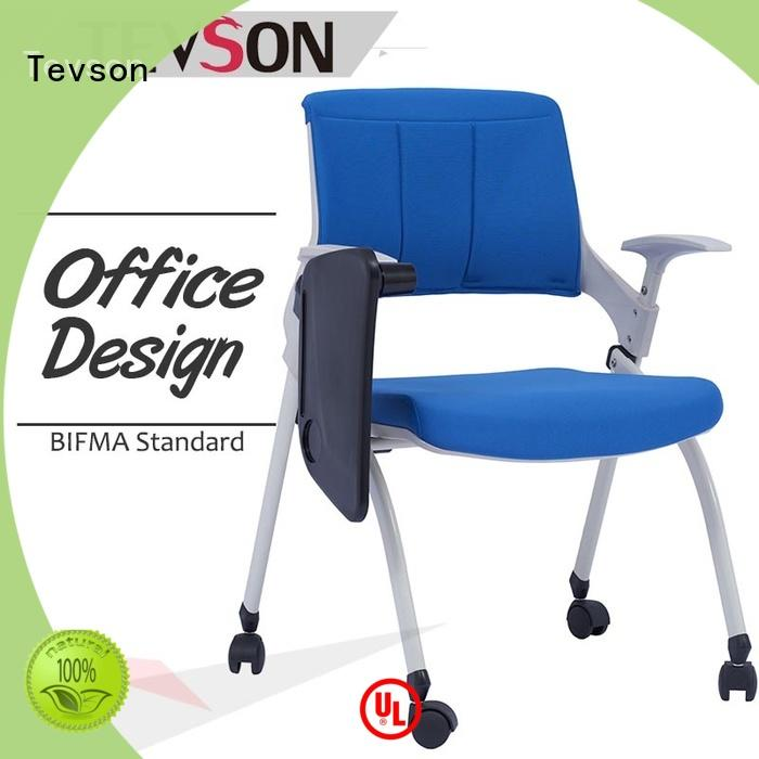 Tevson strong Folding classroom chair scientificly for waiting Room