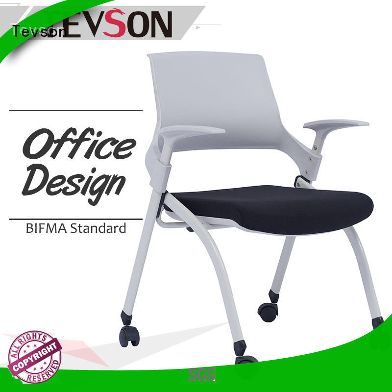 Tevson low cost training room chairs strong for reception