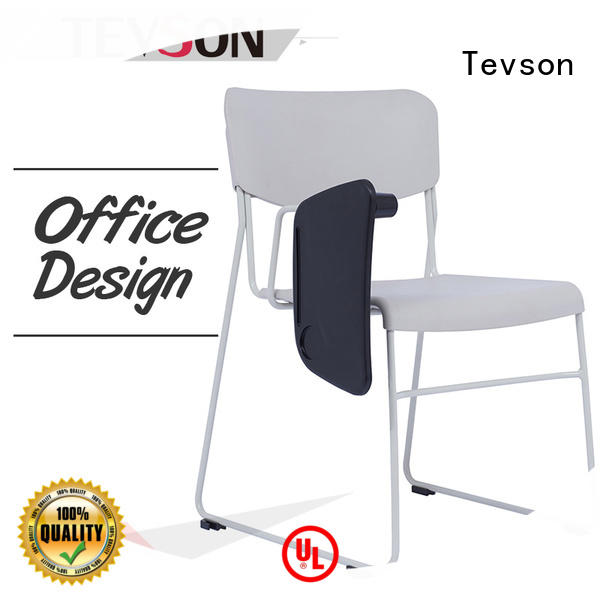 Tevson folding tablet arm chair assurance for anteroom