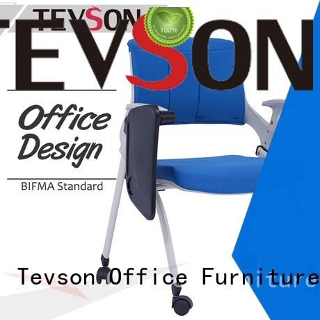 Tevson backrest training room chairs for waiting Room
