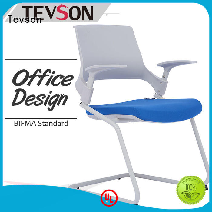 Tevson strong Folding student chair with table assurance for reception