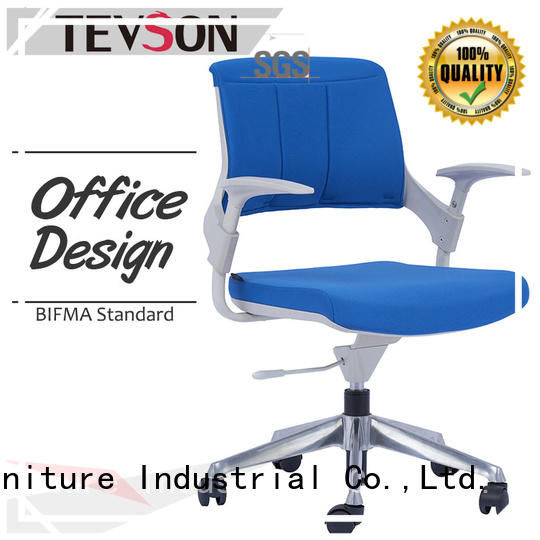 wheels modern office chair cushioned for office Tevson