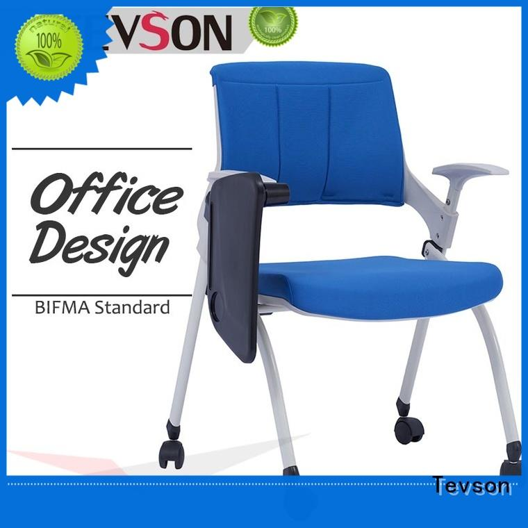 Tevson mid back modern conference room chairs bulk production for reception