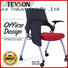 Tevson plastic study chair certifications with writing board
