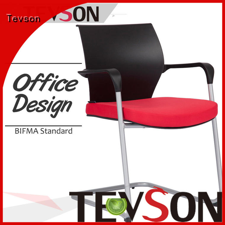 guestvisitor classroom chair with writing pad workshops for waiting Room Tevson