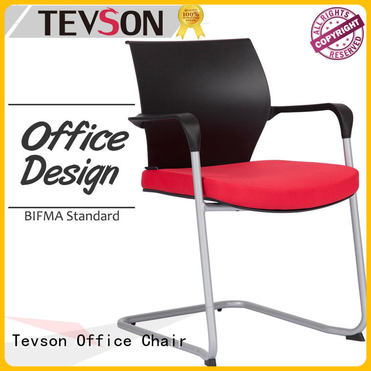 Tevson high elastic student chair with table task for conference