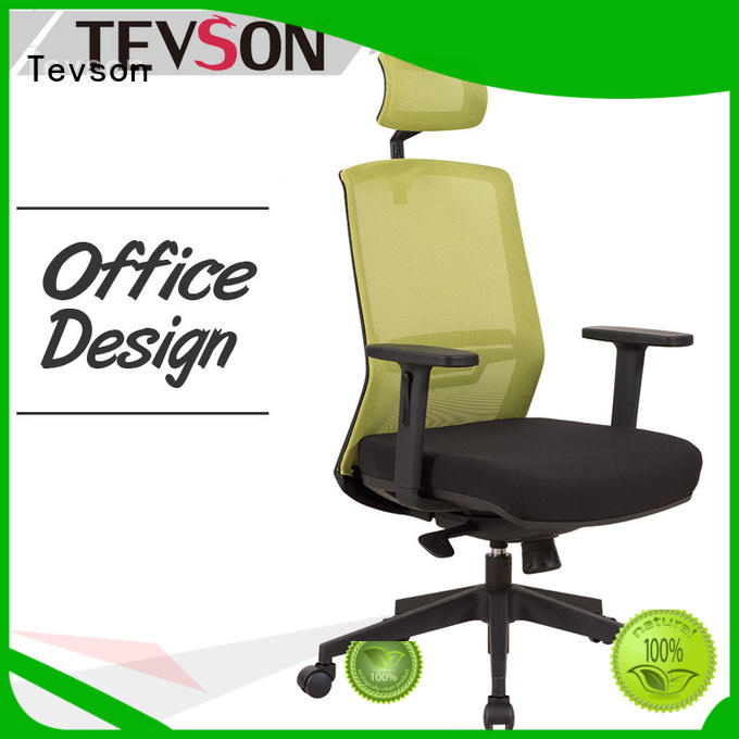height adjustable ergonomic computer chairs China for anteroom Tevson