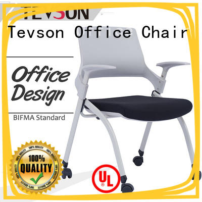 Tevson low cost classroom chairs with writing pad free design
