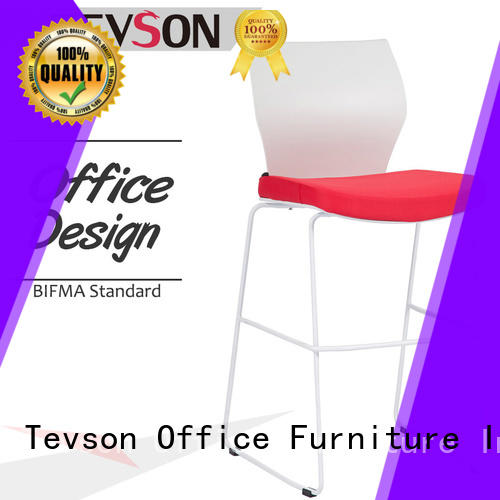 Tevson plastic bar stools for sale from China in KTV room