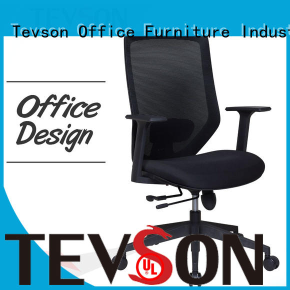 Tevson comfy office chair adjustable in work room