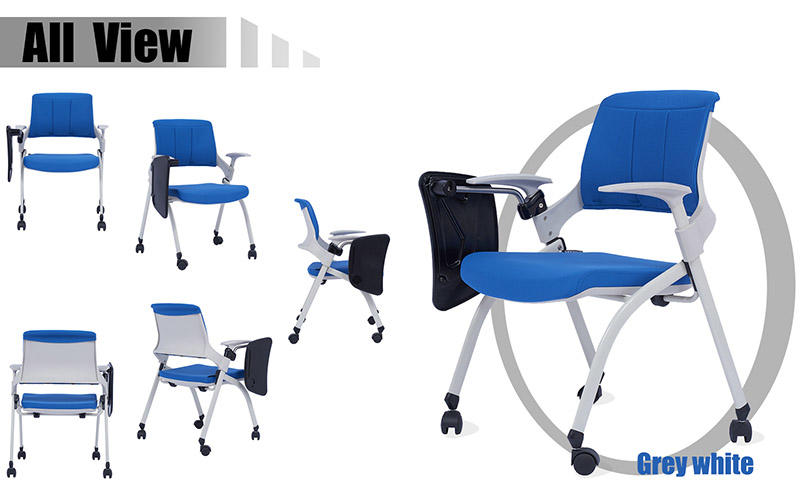 Tevson heavy training room chair workshops with writing board-1