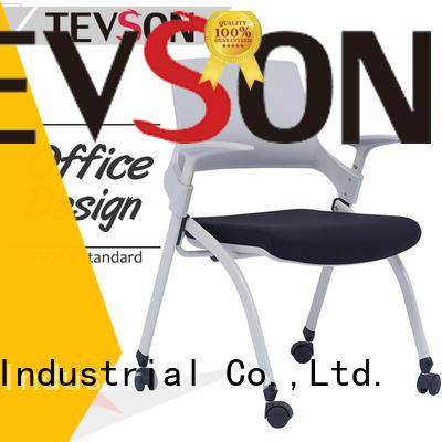plastic study chair with writing pad staff free design for conference