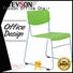 Tevson wheels study chair with pad marketing for reception