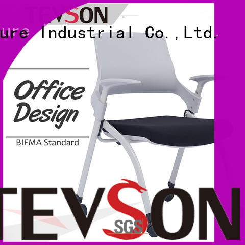 Tevson strong Folding classroom chairs price modern for conference